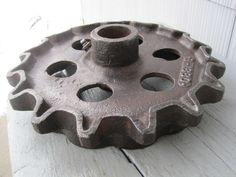 Large Cast Iron Gear
