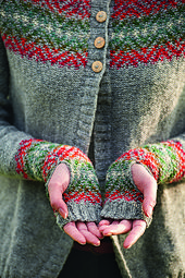 Ravelry: Conifer pattern by Rosee Woodland Knitting Designs, Knitting Projects, Knit Stranded, Fair Isle Pattern, Wrist Warmers, Fair Isle Knitting, Warm Outfits, Pulls, Bunt