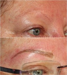 Hair Stroke Eyebrows Semi Permanent Makeup