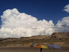 Micro climate of Biscarrosse the clouds stop here ! The sun keeps shining on the beach