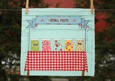 county fair quilt block!  so cute!