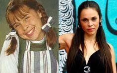Antes e depois da pimeira versão de Chiquititas