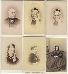 6 CDV: More Members of the BAIRD Family of Aberdeen THOMAS, CATHERINE nee IMRAY
