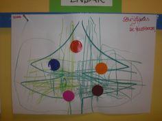 Schrijfdans 'De kerstboom'