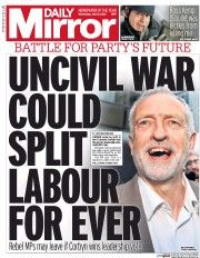 Daily Mirror (UK) Newspaper Front Page for 13 July 2016