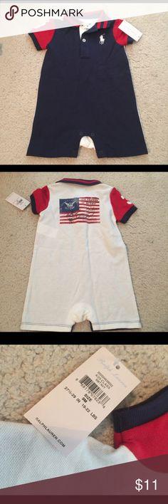 NWT Ralph Lauren One Piece Very cute red,white, and blue outfit! NWT Ralph Lauren One Pieces
