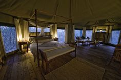 With some of Africa's finest walking safaris and some of the best guides and small camps on the continent, Zambia is well-regarded as a destination for safari connoisseurs.  The Luangwa Valley, Lower Zambezi and Kafue are spectacular parks, with a wild, raw atmosphere and excellent game. The stunning Victoria Falls adds to Zambia's impressive list of attractions.