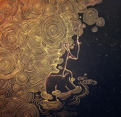 Golden - https://trippy.me #Trippy #Psychedelic