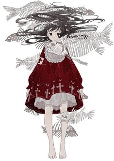 Cartoon Drawing Tips Kawaii Anime Girl, Anime Art Girl, Manga Girl, Cartoon Drawings, Art Drawings, Anime Outfits, Anime Style, Cute Art, Anime Characters