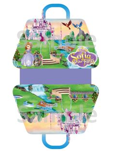 Sofia the First Party Favor Gift Bag FREE PDF Download