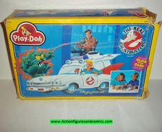 ghostbusters PLAY-DOH modeling set kenner 1986 1987 moc mib mip complete the real kenner action figure Ghostbusters Toys, The Real Ghostbusters, Retro Toys, Vintage Toys, Horror Merch, Disney Precious Moments, Kenner Toys, Strong Willed Child, Scary Monsters