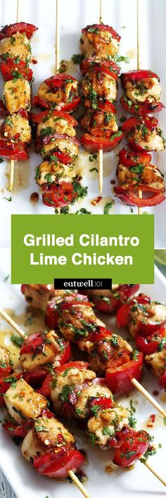 A savory and nourishing grilled chicken perfect recipe for your Summer cookouts. Chicken breasts seasoned in salty, sweet, sour, and spicy marinade (made with Cilantro,lemon juice, honey and Chili)… (Healthy Recipes Chicken)