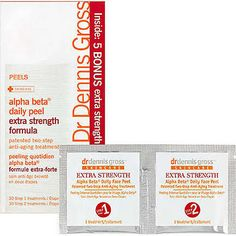 Dr. Gross Alpha Beta Peel Extra Strength - Google Search LOVE LOVE LOVE this product!