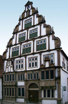 Lemgo Hexenbuergermeisterhaus.
