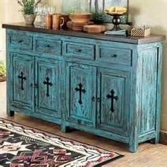 Rustic Turquoise Furniture - Bing Images
