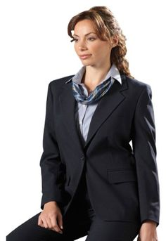 59b7f91afb Ed Garments Women s Classic One Button Single Breasted Coat
