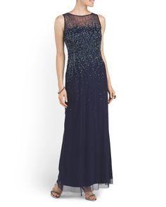 image of Crystal Embellished Dress