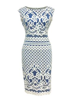 Sleeveless Crochet Lace Bodycon Dress_Bodycon Dress_Dresses_Sexy Lingeire | Cheap Plus Size Lingerie At Wholesale Price | Feelovely.com