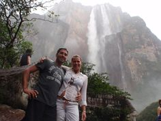 Angel Falls is the highest waterfall in the World. Total height is 979 m (3,212 ft). Venezuela