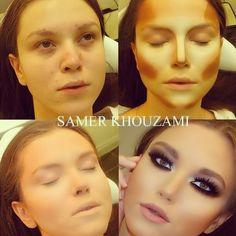The+power+of+contouring+makeup.jpg 612×612 pixels