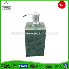 Hotel Bathroom Accessories Green Marble Liquid Soap Dispenser