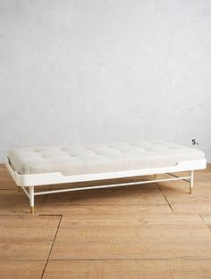 white #daybed from anthropologie. / sfgirlbybay