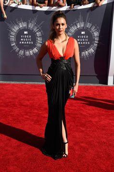 Nina Dobrev | All The Looks From The VMAs Red Carpet