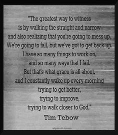 Tim Tebow. How can you not like him?!