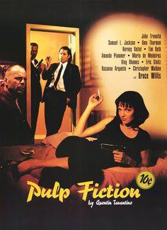Original Pulp Fiction Movie Poster - Quentin Tarantino - John Travolta - Uma Thurman - Samuel L. Jackson - Bruce Willis - Only Selling Original Film Posters Pulp Fiction Poster, Pulp Fiction 2, Fiction Movies, 90s Movies, Good Movies, Science Fiction, Movie Tv, Awesome Movies, Cult Movies