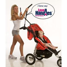 Hilarious !! Turn your stroller into an elliptical x trainer... Could you imagine coming across this in public...lol