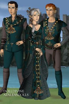Suitors ~ by Inanna ~ created using the Game of Thrones doll maker | DollDivine.com