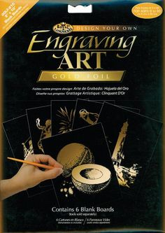 Sailing ROYAL BRUSH Copper Foil Engraving Art Kit 8 by 10-Inch