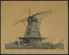 The old Dutch windmill, constructed by 14 men from Sweden beginning July 1, 1863, was destroyed during the raid and rebuilt in 1864