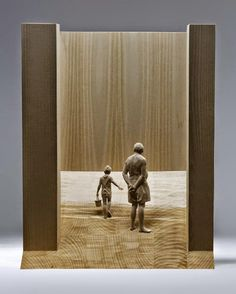 Peter Demetz, 1969 ~ Figurative wood sculptor | Tutt'Art@ | Pittura * Scultura * Poesia * Musica |