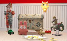The Sims 2 | Veranka's 3t2 Midnight Hollow Toys & Deco