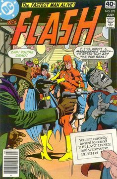 NY FAV COMIC EVER...Cover for The Flash (DC, 1959 series) #275 [Whitman Variant]