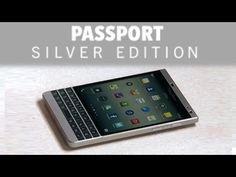 First Look – Blackberry Passport Silver Edition [Video] - Here's a first look at the not yet released Blackberry Passport Silver Edition. From what we can tell from the video it's looking quite nice.