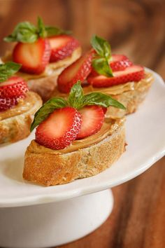 "A 2010 ""PB my way"" recipe winner: Adding basil to this relatively simple peanut butter and strawberry sandwich gives it a wonderfully fresh flavor."