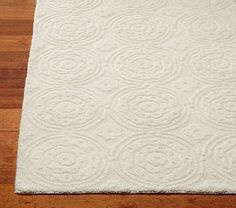 Sweet Flower Rug #PotteryBarnKids  oh I'm in love with this rug for the nursery!