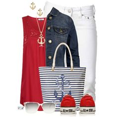 """Nautical"" by colierollers on Polyvore"