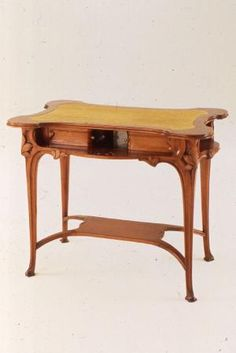 Art Nouveau game table, Italy, ca. 1901