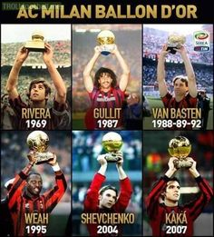 Milan's glory days. | Troll Football