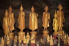 Pak Ou Cave in Luang Prabang, Laos