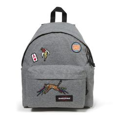 The Eastpak Padded Pak'r backpack is a great investment as it has a robust design with padded back and shoulder straps making it one of the most comfortable to wear backpacks on the market.  We are particularly loving this colour-way with all of the patched detailed designs as it gives the bag so much character!