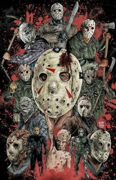 Jason Voorhees-Friday The 13th.........