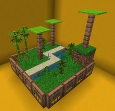 A mini jungle with bambo fotest : Minecraft A mini jungle with . - A mini jungle with bambo fotest : Minecraft A mini jungle with bambo fotest : Mine - Minecraft Hack, Minecraft Building Guide, Easy Minecraft Houses, Minecraft Banners, Minecraft Decorations, Cool Minecraft Houses, Minecraft Tutorial, Minecraft Blueprints, Minecraft Crafts