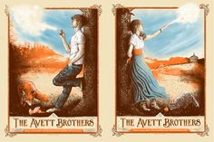 The Avett Brothers | 4.11.13 - 4.12.13 Clemson, SC & Wilmington, NC by Zeb Love