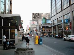 Down town yeah Dream City, My Dream, Toronto Street, Street Pictures, Toronto Canada, Street View