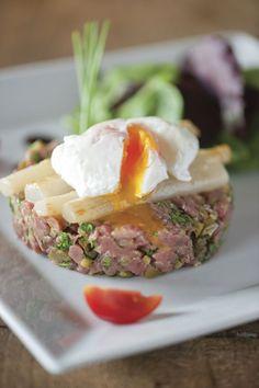 Steak Tartare, Fine Dining, Starters, Tapas, Eggs, Meat, Breakfast, Ceviche, Recipes