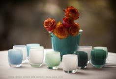 glassybaby | stormy, dream, whisper, safe, seafoam, luxury, aqua verde